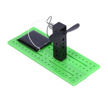 Brand New Children Kids Solar Cells Experiment DIY Solar Assembling Toy Creative Educational Toy Children DIY Gift(China)