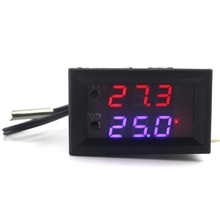Digital Intelligent Thermostat Regulator DC 12V 10A Digital Adjustable Temperature Controller -50-110C