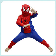 Halloween Costume Party Spiderman Clothing Child Kids Spider-Man Suit kid spider man costume spiderman suit party clothes C4