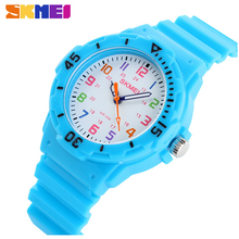 Fashion Brand Children Quartz Watch Waterproof Jelly Kids Watches For boys girls Students Wristwatch 7COLORS(China)