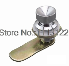 MS403-A Zinc Alloy Push button lock for electric cabinet box rotating small cabinet cam lock 1 PC