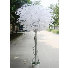 Artificial Ginkgo Leaf for DIY Creative Home Wedding Garden Decoration12pcsWhite Artificial Plant decorative flower