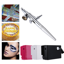 Single Action Airbrush Makeup kit Air Compressor Kit spray gun for Art Painting Makeup Manicure Craft Model Air Brush Nail Tool