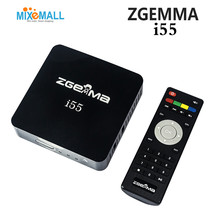 Zgemma Star i55 Satellite Receiver BCM7362 Dual core Mainchipset 2000 DMIPS CPU PROCESSOR Linux Operating System HDMI Connection