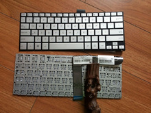 New keyboard for ASUS laptop keyboard P/N:0KNB0-362DUS00 Model:NSK-UQC01 Compal P/N:PK1316W110S Silver