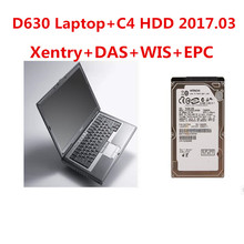 2017.05 Full MB Star C4 Software hdd 320 hard disk Fit in d630 laptop for mb car&truck diagnosis SD Connect C4 Xentry and DAS