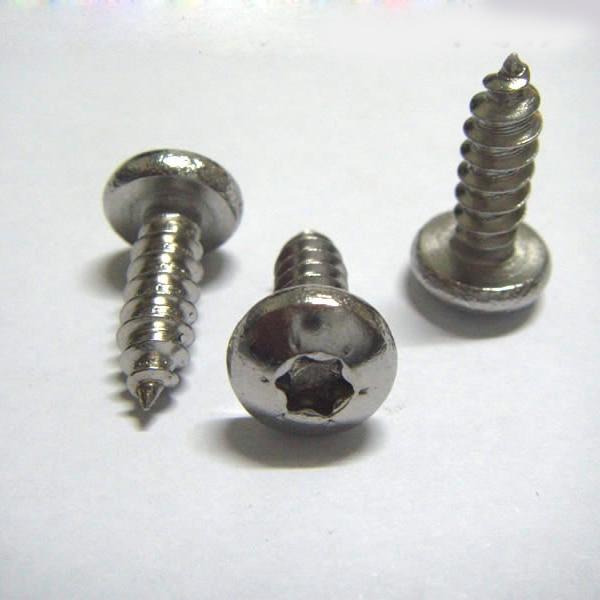 100pcs/lot  ST4.2*L Stainless Steel Six-Lobe Round head self tapping screw, SUS 304 torx screw/ TorxSTNP<br><br>Aliexpress