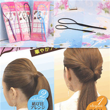 New 2pcs=1set  Lady Magic Hair Styling Multi Function Hair Accessories Tools Care Pattern Plate Portable Pull Hair Styling Pins