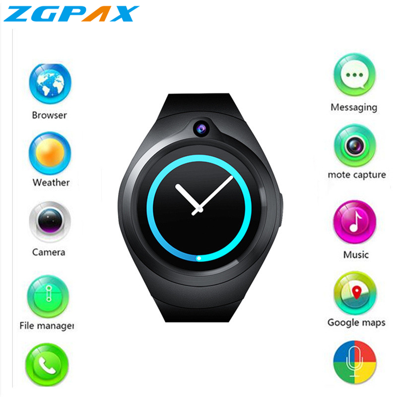 stock Original Bluetooth Smart Watch Sport AMOLED Screen SIM card smartwatch Android & IOS samsung gear s2 PK G3 AS2 KW99