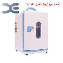 High Quality Mini Nevera Home Dormitory Refrigerator Cold-Hot Dual Purpose Refrigerator Portable Fridge Free Shipping