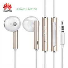 Huawei mate9 Pro P10 Plus Original AM116 Fone De Ouvido Audifonos Airpods Earpods Earbuds Noise Cancelling honor8 earphone