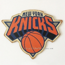 NEW YORK KNICKS NBA East Conference Team Logo Retro decorative plate Poster Wall Chart Basketball Decorative Wall Sticker