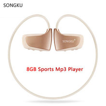 SONGKU W262 8GB Mp3 Player Sports MP3 Music Player Walkman Earphone Headphone Runing Riding Gym Mp3 Player(China)