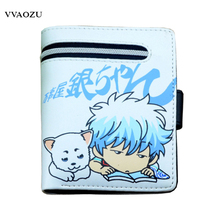 One Piece Wallet Naruto Natsume Yuujinchou Gintama Men Women Wallets with Card Holder Purse Billeteras Money Bags for Students