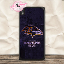 Baltimore Ravens Football Case For Sony Xperia Z5 Z4 Z3 compact Z2 Z1 Z E4 T3 T2 SP M4 M2 C3 C(China)