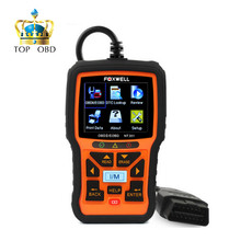 2017 OBD2 Auto Scanner Foxwell NT301 OBD Automotive Diagnostic Tool Engine Scanner Fault Code Reader with O2 sensor Same AL519(China)
