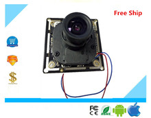 CCTV AHD board module UTC OSD with LENS IRC 720P 1280*720 1.0MP focused XM310+H42 1/4CMOS Night Vision Pcb Chip Free Shipping
