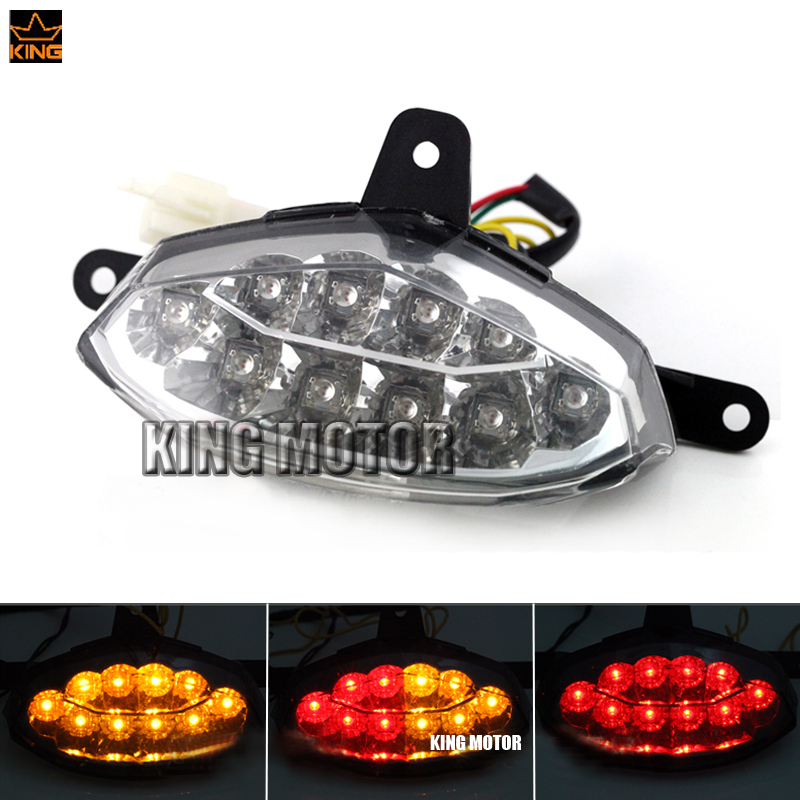 For KTM 125 200 390 DUKE 2012-2015 Motorcycler Accessories Integrated LED Tail Light Turn signal Blinker Clear<br>
