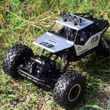 Buy TOFOCO New Alloy Four-Wheel Drive Rc Car Climbing Dirt Bike Buggy Radio Remote Control High Speed Racing Car Model Toys Kids for $43.99 in AliExpress store