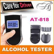 2015 new patent portable digital mini breath alcohol tester wholesales a breathalyzer test  FREE SHIPPING