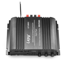 Lepy LP-269S HiFi Digital Stereo Amplifier US Plug 4-channel Powerful Sound Compatible With Car motorcycle Computer speaker