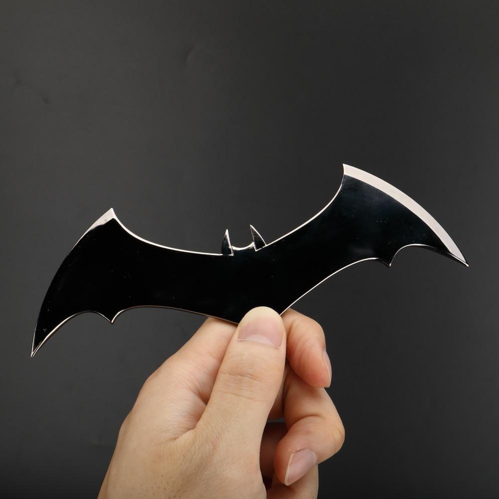Shazam Batarangs Batman Dart Metal Batgirl Dart Superhero Weapon Cosplay Props (1)