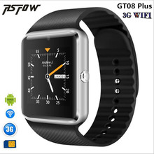 RsFow 3G Wifi Android Smart Watch Phone GT08 Plus With camera Video Whatsapp Facebook Support Sim Card Play Store Download APP(China)