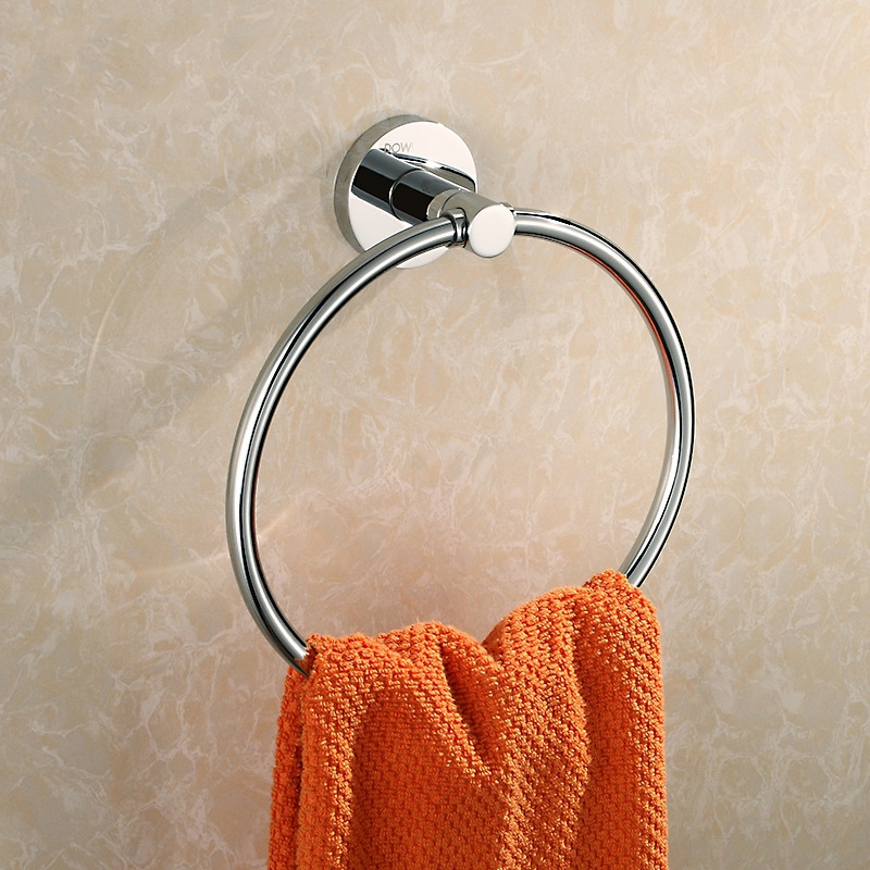 Solid Brass Copper  chrome Finished Bathroom Accessories Products Towel Ring,Towel Holder,Towel Bar<br><br>Aliexpress