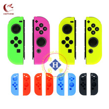Green Rose Yellow 1pair Soft Silicone Protective Case Skin cover for Nintendo Switch JOY Con Controller nintend switch JOY-CON