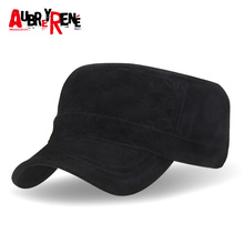 [AUBREYRENE] 2017 New Brand Winter Baseball Cap Men Velvet Polo Flat Hat Z-3030()
