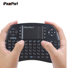 IPazzPort KP-810-21S 2.4GHz Wireless Japanese Keyboard 2.4GHz wireless hand-held touchpad multimedia keyboard small and exquisit(China)