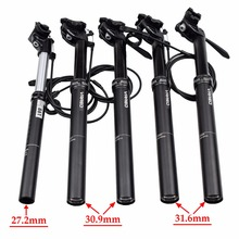 KS EXA 27.2 30.9 31.6mm Lever Remote Control Mountain Bike Seatpost Cycle Suspension Downhill MTB Bicycle Adjustable Seatpost