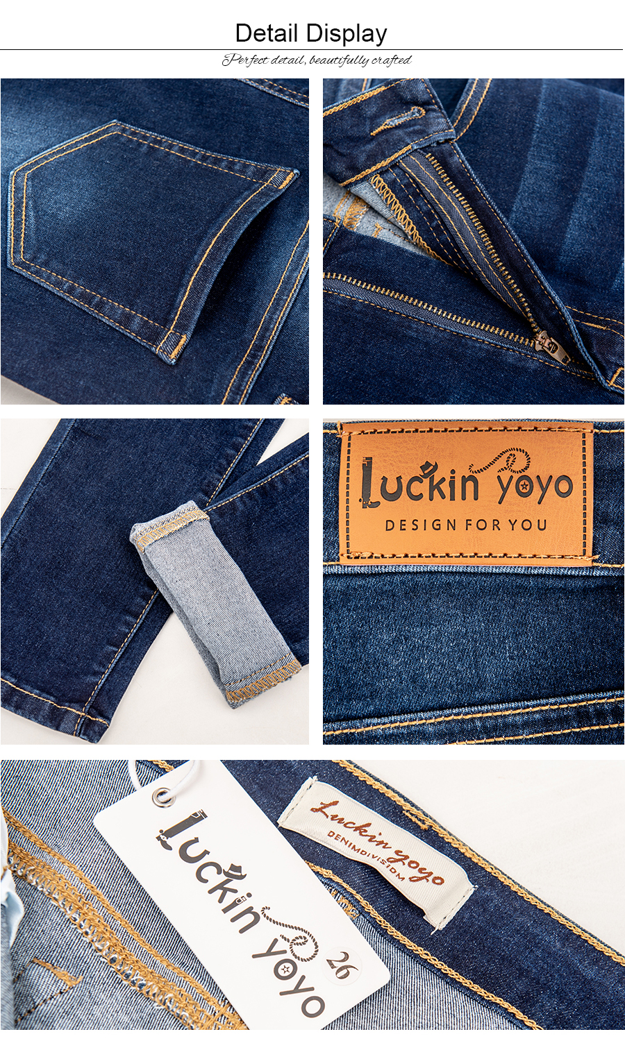 luckinyoyo jean jeans for women with high waist pants for women plus up large size skinny jeans woman 5xl denim modis streetwear 15