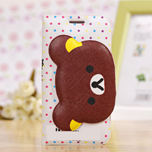 Clearance!! Cute Bear Wallet Leather Case For Samsung Galaxy I9300 S3 Neo  Kickstand Phone Back Cover Capa Funda Coque