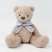SOFT LIFE Stuffed Animal Tie Teddy Sleep Bear Plush Doll Toys Stuffed Animals Teddy Bear Soft Toy Sit Hight 21CM Gift For Kids