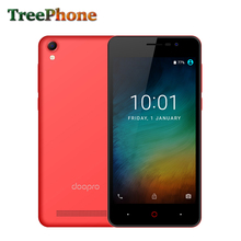 Doopro P3 1GB+8GB Quad Core Smartphone 720P 5.0'' IPS Screen Big Battery Android 6.0 rich in colors full plastic fuselage phone(China)