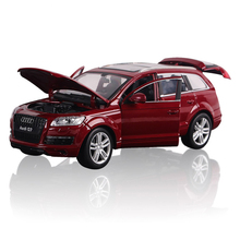 D391 Audi Q7 sports car model alloy car models 1:24 toy cars for children