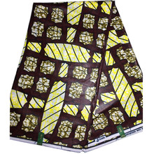 2017 New Design African Wax Prints Fabric with Ankara Bags London wax print fabric for party dress(China)