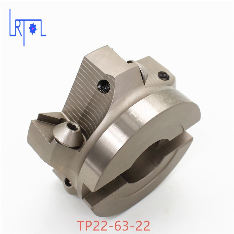 TP22-63-22 90 Degree Right Angle Shoulder Face Mill Head CNC Milling Cutter,milling cutter tools,carbide Insert TPMN1603 <br>