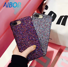 Buy NEW Luxury Colourful Sexy Diamond Secret Glitter Bling Paillettes Powder Sequins Case iPhone 7 6 6s Plus Sparkle Cover Women for $1.98 in AliExpress store
