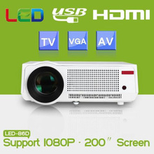 5500 lumens Poner Saund led support projector 1080P Full HD TV video projetor home Theater USB theater lcd cinema proyectores