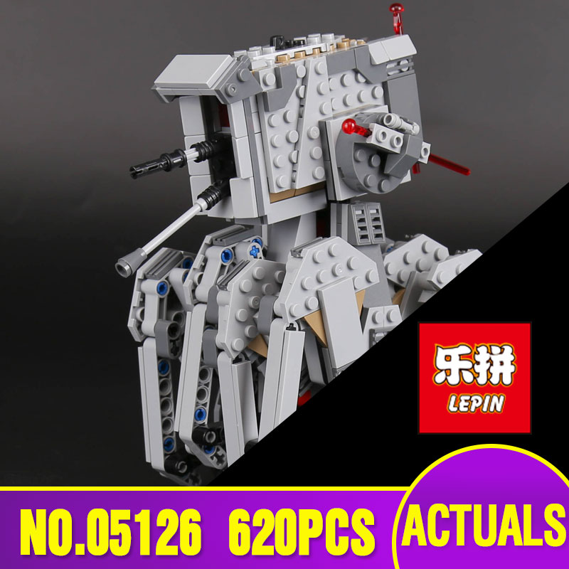 Lepin 05126 Genuine  Star Plan Series 620Pcs The First order scout walker Set 75177 Building Blocks Bricks Children Toys Gifts<br>