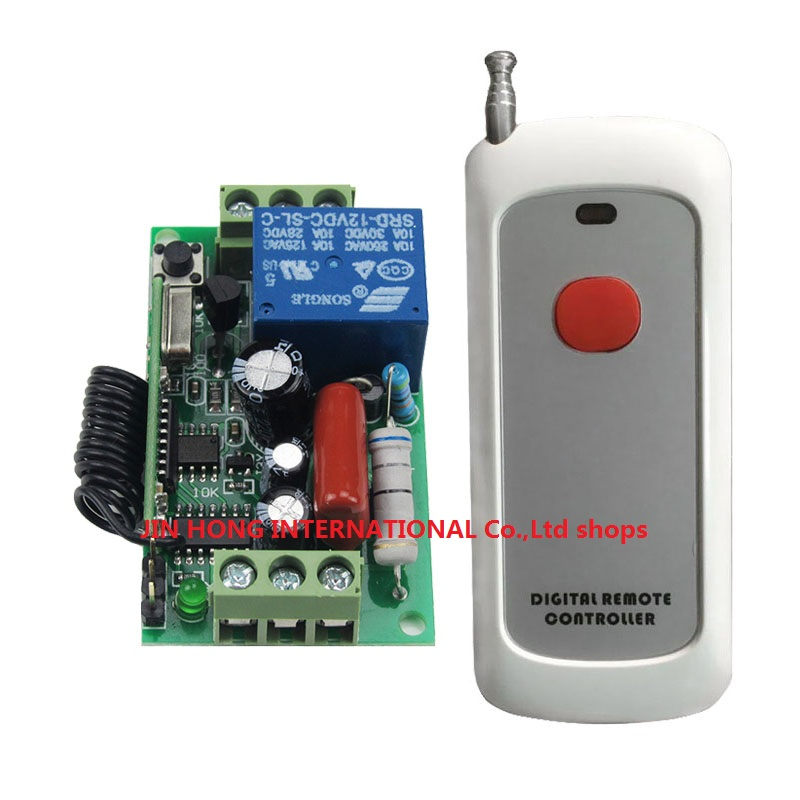 LED SMD Light Power ON OFF AC220V 1CH wireless switch 1000M RF Receiver&amp;Transmitter 10A Latched Add controller freely ON &amp; OFF<br><br>Aliexpress
