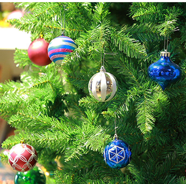 12 inhoo 24PCSset Christmas ornament 468cm Christmas Tree Balls Baubles Xmas for Home Party Colorful Wedding Decoration Supplies