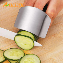 ABEDOE Personalized Design Stainless Steel Finger Hand Guard Finger Protector Knife Slice Chop Safe Slice Cooking Tools(China)