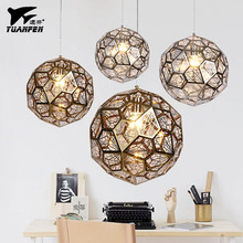Modern Stainless Steel Pendant lights Jewel Ball E27 Hang lamp For Living Room Study Bedroom/bar(China)