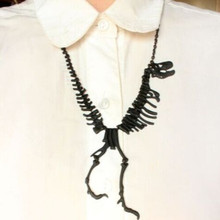 High Quality 3 Color Collares Mujer Fashion Dinosaur Choker Collar Necklace Women Men Cheap Jewelry Women Accessories
