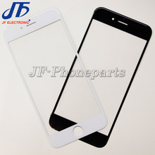 "500pcs/lot Front outer glass LCD Touch Screen Lens Top Glass For iPhone 6 6G 4.7"" Replacement Part DHL Free shipping"