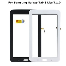 ALANGDUO For Samsung Galaxy Tab 3 Lite T110 SM-T110 7.0 Wifi version Outter Touch Screen Panel Sensor Lens Glass Replacement