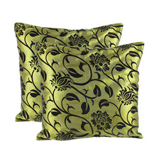 43*43cm Terylene Green Back Cushion Cover Square Cushion Case for Car Home Sofa Decoration High Quality